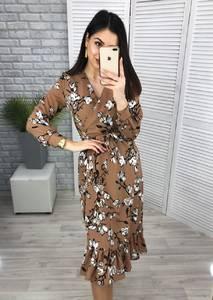 Платье длинное нарядное Ю8276