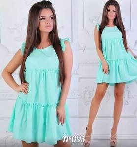 Платье короткое летнее Ш1289