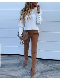 Блуза с длинным рукавом Ю1594