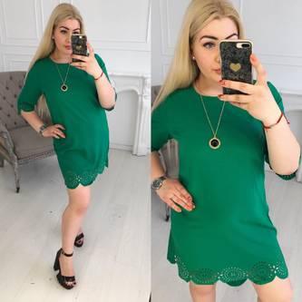 Платье короткое нарядное Ц5371