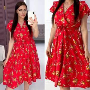 Платье короткое нарядное Я9506
