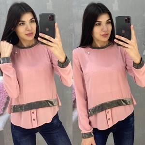 Блуза с длинным рукавом А07650
