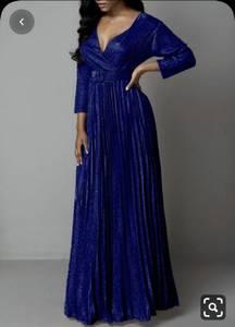 Платье длинное нарядное А17166
