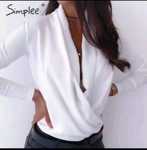 Блуза с длинным рукавом А29411