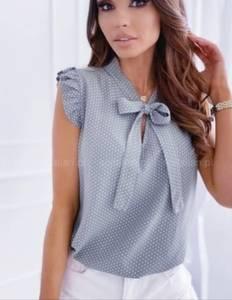 Блуза без рукавов А30160