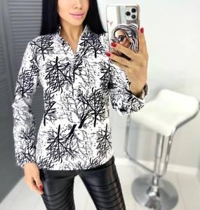 Блуза с длинным рукавом А31449