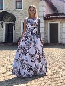 Платье длинное летнее Ч2525