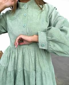 Платье короткое с длинным рукавом А33789