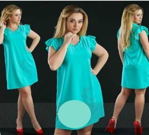 Платье короткое летнее А39129