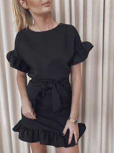 Платье короткое нарядное А39187