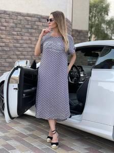 Платье длинное летнее А47722