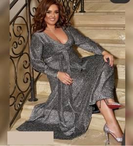 Платье длинное нарядное А55041