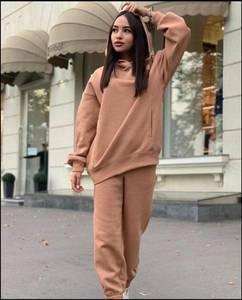 Костюм на флисе модный А57276