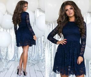 Платье короткое нарядное А57307