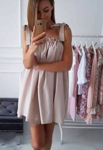 Платье короткое современное Ч4407