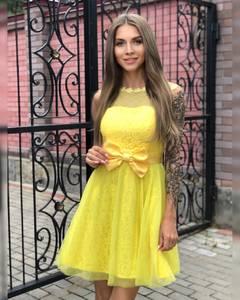 Платье короткое коктейльное Ч7299
