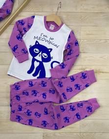 Пижама на флисе А13540