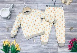 Пижама на флисе Ш0377