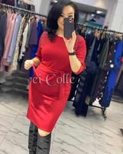 Платье короткое классическое Ю2285