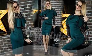 Платье короткое нарядное Ю4083