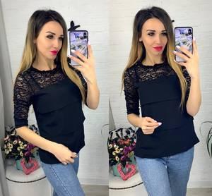 Блуза с коротким рукавом Я0632