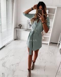 Платье короткое однотонное Я2622