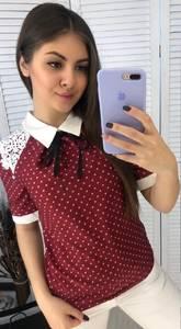 Блуза с коротким рукавом Я3326