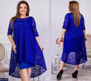 Платье короткое нарядное Ю7618