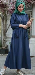 Платье длинное с длинными рукавами Я1015