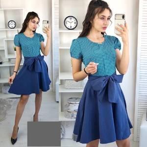 Платье короткое нарядное А36713