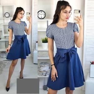 Платье короткое нарядное А36714