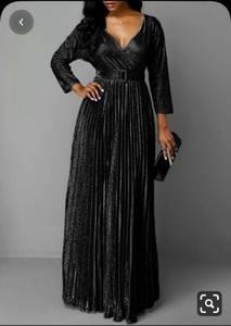 Платье длинное нарядное А17167