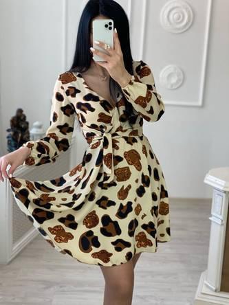 Платье короткое нарядное А30655