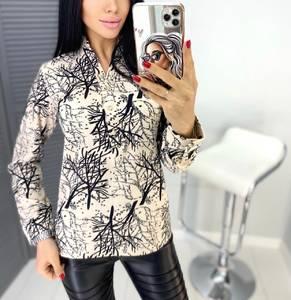 Блуза с длинным рукавом А31450