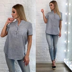 Блуза с коротким рукавом А33518