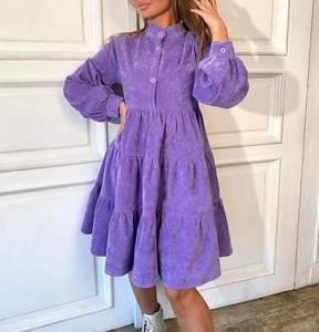 Платье короткое с длинным рукавом А33790