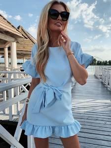 Платье короткое нарядное А39188