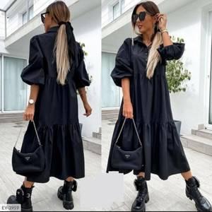 Платье длинное черное А39239