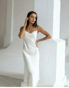 Платье длинное летнее А39996