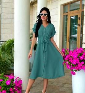 Платье длинное летнее А46725