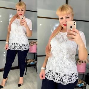 Блуза белая Ч3637