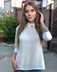 Блуза для офиса Ч7288