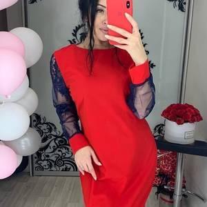 Платье короткое нарядное Ш2038