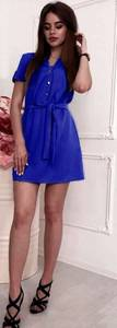 Платье короткое летнее Ш2785