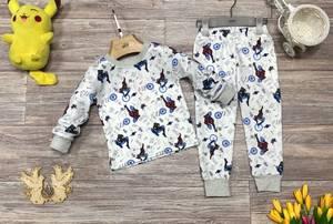 Пижама на флисе Ш0372