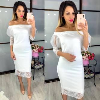 Платье короткое нарядное Ц9469