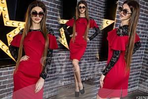 Платье короткое нарядное Ю4084
