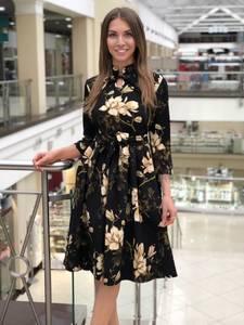 Платье короткое нарядное Ю4133