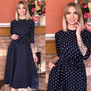 Платье короткое современное Ю6495
