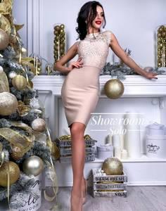 Платье короткое облегающее Ю7587